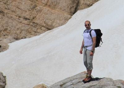 Luca Tavian alpinista Dolomiti