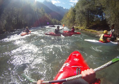 Discesa-primo-tratto-in-kayak-della-Drava-Drau