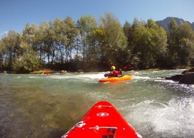 Kayak-in-Austria---fiume-Drau-Drava