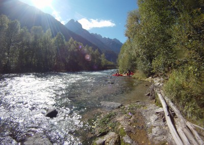Visionare-prima-rapida-in-kayak-sul-fiume-Drau-Drava