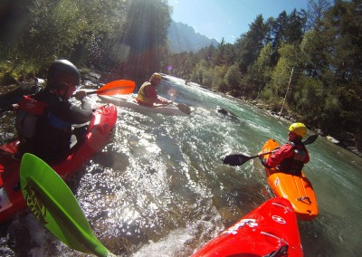 White-water-kayaking-Drava-Drau