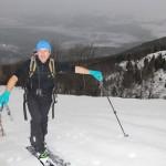 Scialpinismo cresta di Cima Vacche