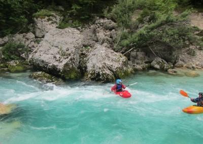02 06 2014 Discesa in kayak Soca Bunkerij ©Luca Tavian