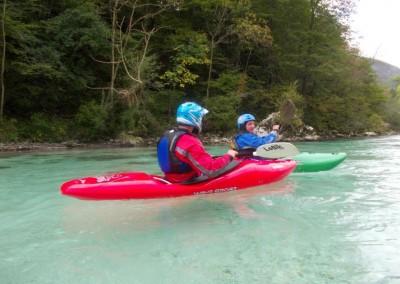 06 10 2013 Discesa in kayak Soca Tnovo 1