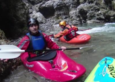 08 07 2013 Discesa in kayak Gole del Maè ©Luca Tavian