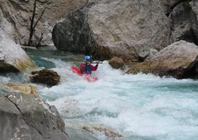 2014 Discesa in kayak Soca Lepena Cezoca