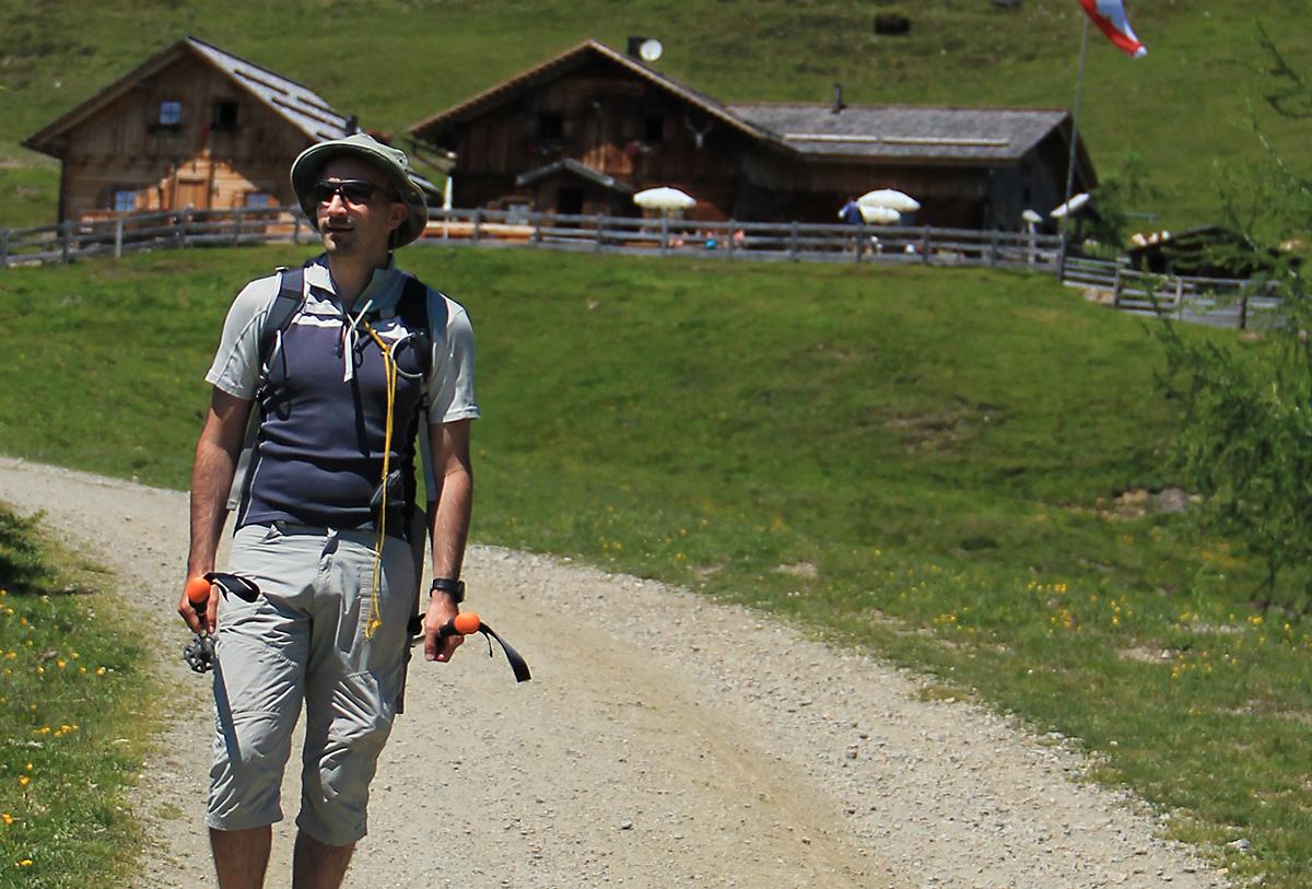Luca Tavian trekker