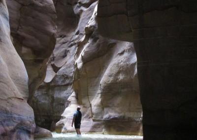 Luca Tavian Canyoning Giordania