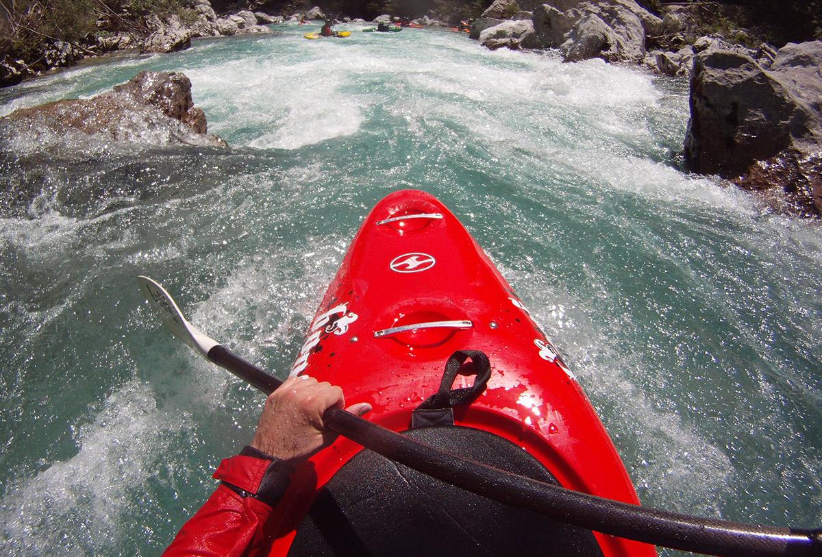 Luca Tavian kayaker