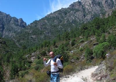 Avvicinamento-Canyoning-Tavignanu-Corsica