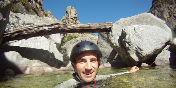 Canyoning in Corsica sul Tavignanu