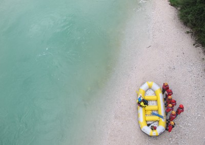 Discesa-in-rafting-sul-Soca