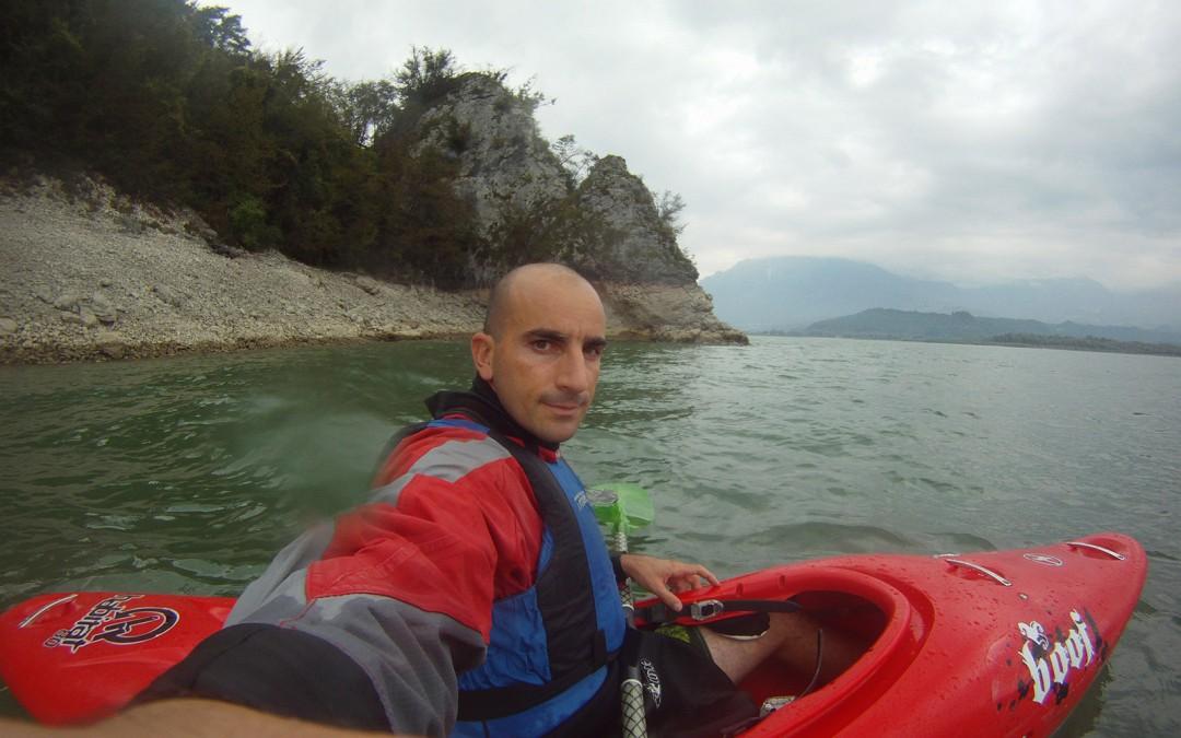 Giro in kayak del lago di Santa Croce