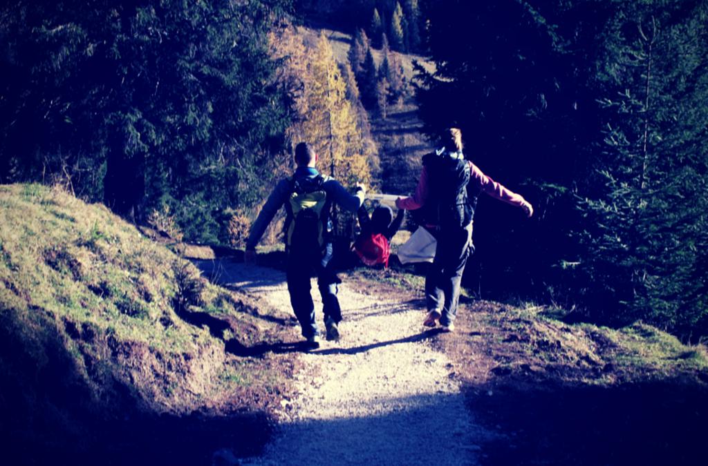 L'escursione facile per le famiglie con bambini in Dolomiti