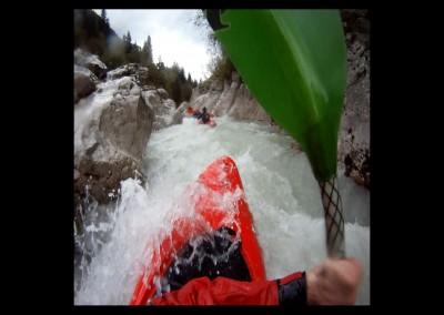 Koritnica river rapids