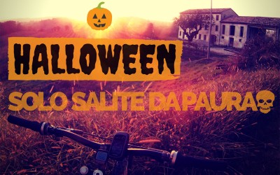 Percorso mtb Halloween a Conegliano: solo salite da paura!